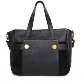 Dolores Black handbag for women